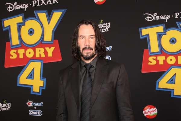 """Reeves le prestará su voz a """"Duke Caboom"""" en Toy Story 4. Foto: AFP"""