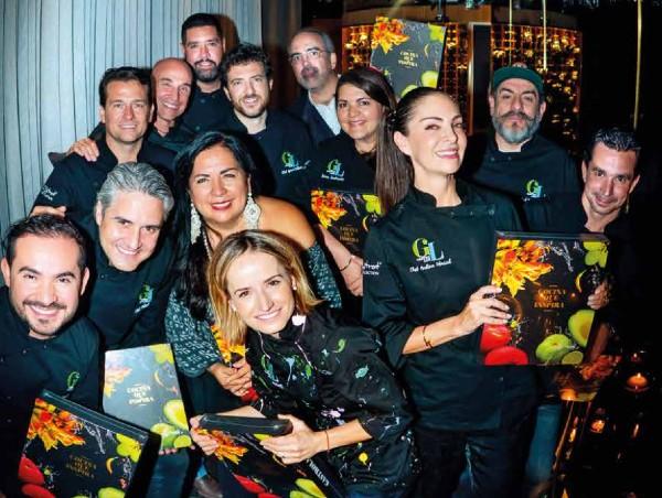 Los mejores chefs presumen el libro: Cocina que Inspira. Foto: Yaz Rivera