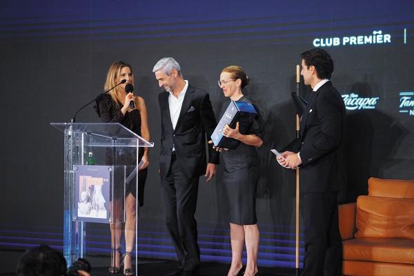 Marcela Cuevas, Matthieu Guerpillon, Tatiana Bilbao y Abelardo Marcondes. Foto: Cortesía