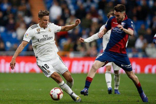 Real Madrid Atlético de Madrid Marcos Llorente