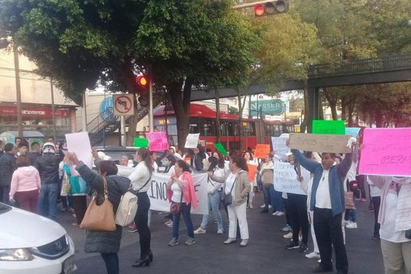 manifestantes_tlalpan_reporte_vial