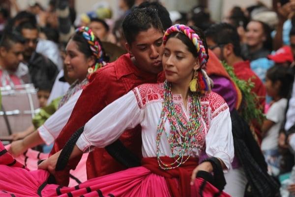 Con el fin de celebrar los 400 años de la ciudad de Oaxaca, inició la festividad. Foto: CUARTOSCURO