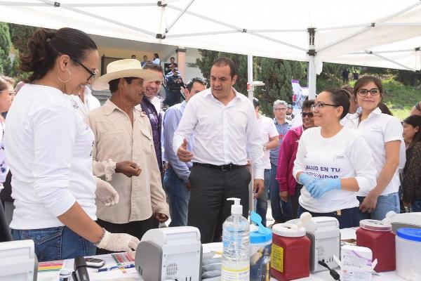 Dan inicio las jornadas de salud en tu comunidad en Morelos