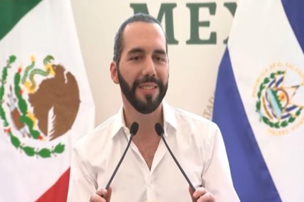 Nayib Bukele dice que AMLO es un lujo para México. Foto: Especial