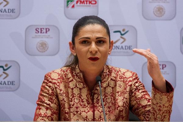 La presidenta de la comisión, Lucía Meza, del grupo parlamentario de Morena, explicó que el objetivo es que Ana Guevara detalle la situación financiera por la que atraviesa la Conade. Foto: Cuartoscuro