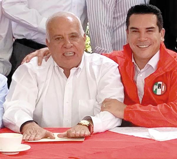 José Ramón Martel se sumó a Alejandro Moreno. Foto: Especial