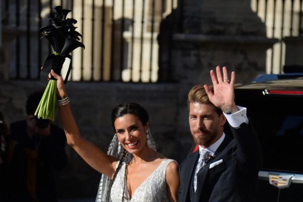 Revelan video de la espectacular boda de sergio ramos y pilar rubio