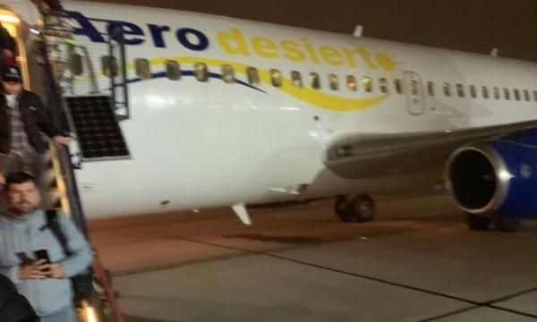 Evacuan avión en Santiago de Chile