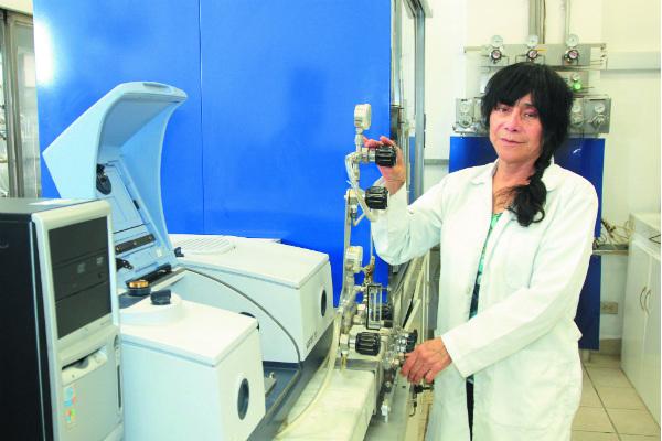 Griselda Corro logró la instalación de una planta piloto para producir el bioproducto. Foto: Especial.