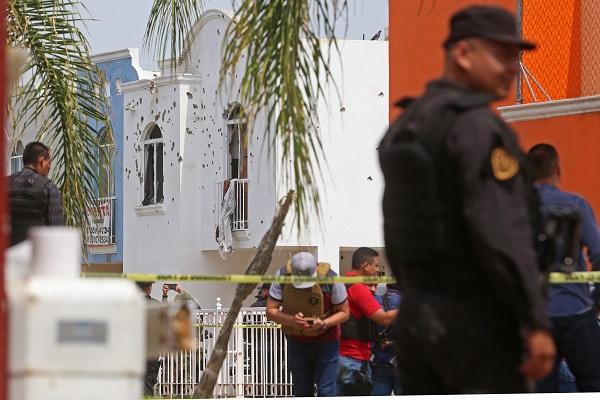 60 minutos duró la balacera en Tlajomulco. Foto: Cuartoscuro. Foto: Cuartoscuro