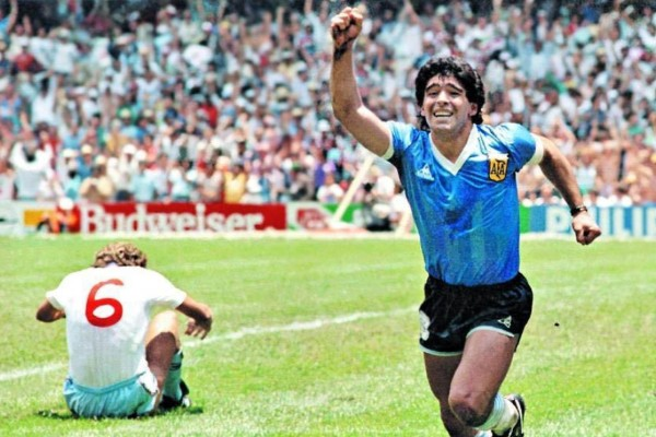 gol del siglo maradona mexico 86