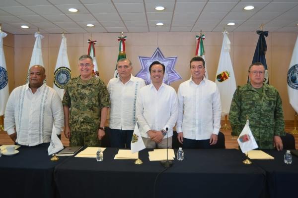 Gobernadores de la región sureste
