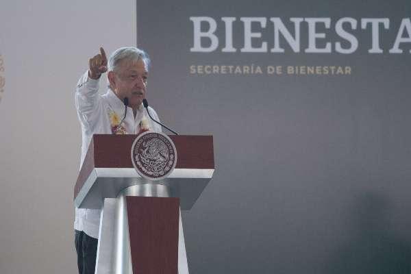 López Obrador revisará lo relativo al Tren Maya, cuyas obras se iniciarán este año. Foto: Archivo | Cuartoscuro