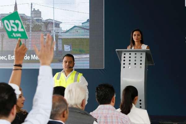 Sólo 9 de 27 inmuebles asegurados que se ofertaron lograron venderse por un total de 56.6 millones de pesos. Foto: Germán Romero / Presidencia