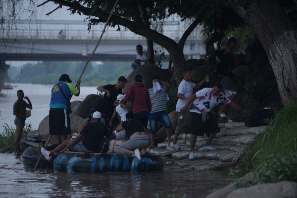 """¿Tiene México la capacidad de ser un """"tercer país seguro""""? Foto: Cuartoscuro"""