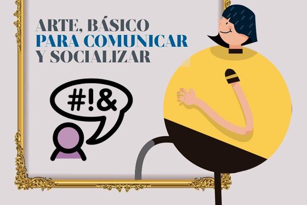 Arte, básico para comunicar. ILUSTRACIÓN: ALLAN G. RAMÍREZ
