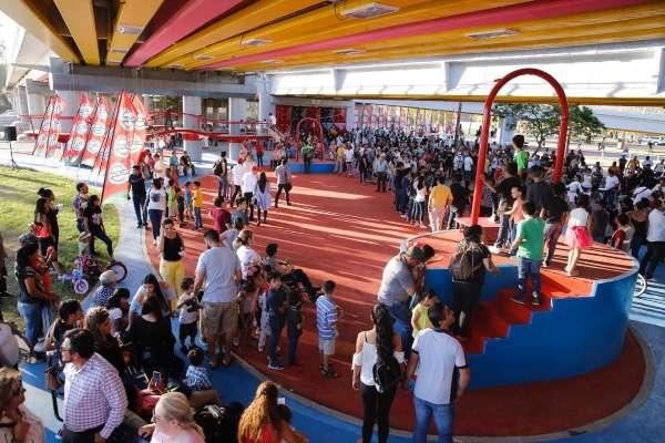 El parque tuvo una inversión de 62 millones de pesos. Foto: Especial
