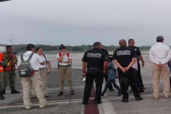 El INM se encargó de poner a salvo a esas siete personas. Foto: Archivo | INM