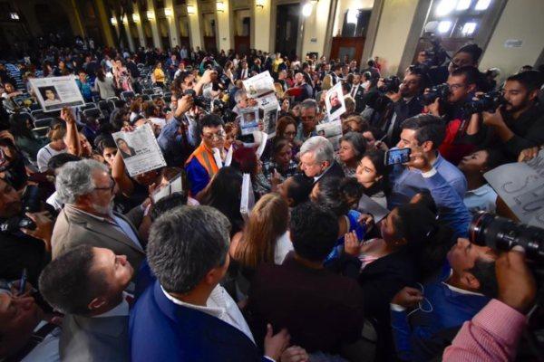 AMLO López Obrador Palacio Nacional