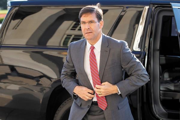El secretario de Defensa viajará esta semana a Bruselas a una reunión de la OEA.  Foto: EFE