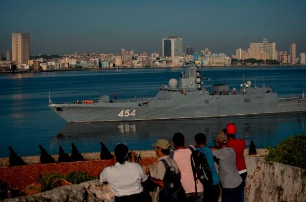 PRESENCIA. Navíos rusos también llegaron a Cuba. FOTO: AP