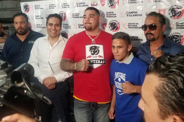 Andy Ruiz mencionó que se seguirá preparando para la revancha en puerta contra Anthony Joshua. Por: Héctor Flores.