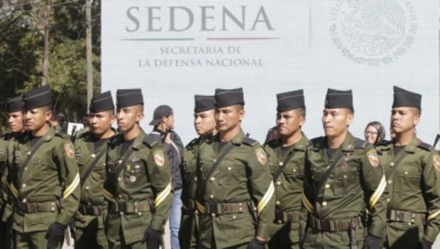 Ecatepec tenía un despliegue de 300 soldados y ahora cuenta con 600. Foto: Notimex