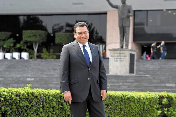 Felipe Fuentes pide que los magistrados electorales puedan serlo de Distrito o Circuito. Foto: Pablo Salazar