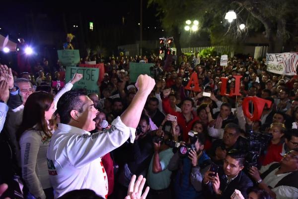 Alejandro Moreno arranca campaña en Querétaro