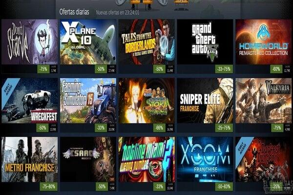 videojuegos steam verano ofertas