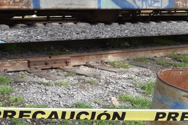 Mujer de origen hondureño fue arrollada por el tren en Hidalgo