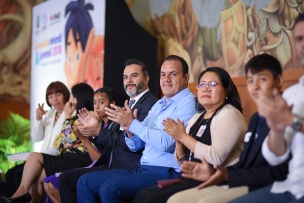 Blanco Bravo mencionó que la administración a su cargo busca establecer condiciones para el desarrollo pleno de dicha población. Foto El Heraldo de México