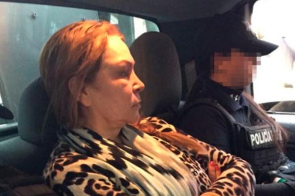 Fernández Valencia, de 59 años, fue arrestada en la ciudad mexicana de Culiacán, Sinaloa, en febrero de 2016. Foto Especial