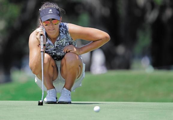 SUEÑOS. Debutó como profesional con un sitio 12 en el US Women's Open. Foto: AP