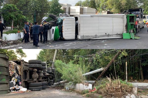 Volcadura-camion-de-basura-Paseo-de-las-Palmas-y-Sierra-Tarahumara