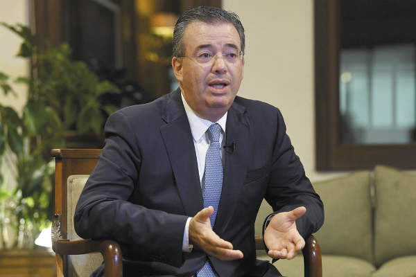 El gobernador del Banco de México en entrevista con El Heraldo de México. Foto: Especial.