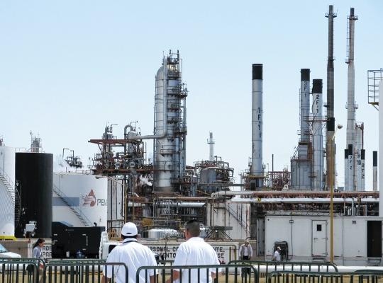 EDAD. La refinería de Salamanca cumplirá el 30 de julio 69 años de operación. Foto: Cuartoscuro