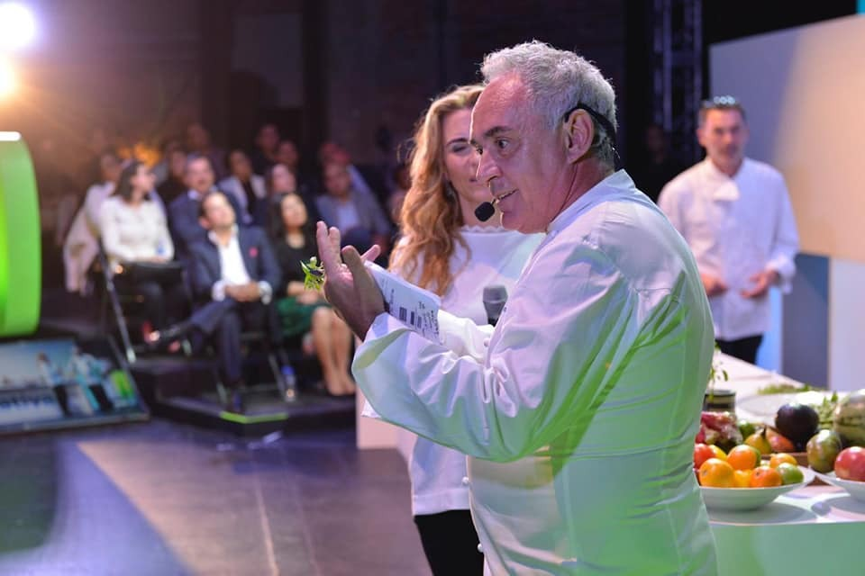 Chef Ferran Adrià. Cortesía Telefónica Movistar