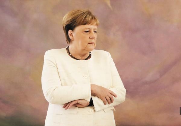 Angela Merkel, canciller de Alemania tuvo nueva crisis de salud. FOTO: AFP