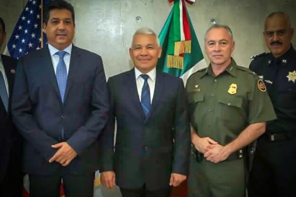 El almirante Marco Antonio Ortega fue el responsable del operativo Cisne Negro, por medio del cual fue capturado Joaquín El Chapo Guzmán. Foto Especial