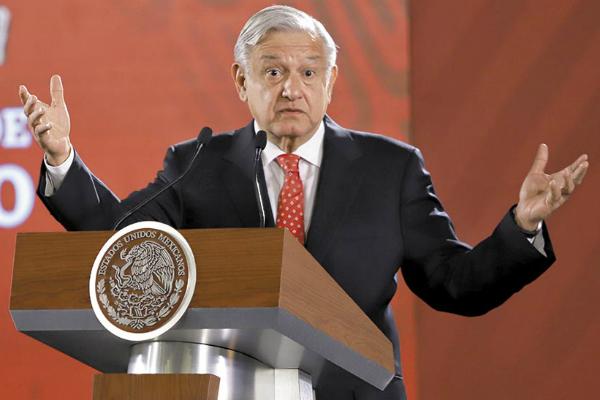 El mandatario afirmó que la corrupción penetró en varias instituciones de gobierno. Foto: Especial.