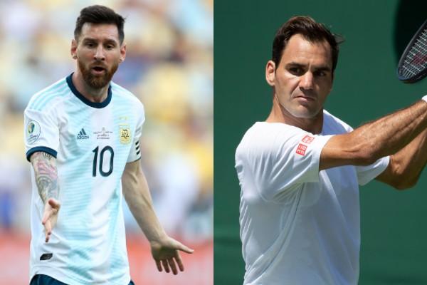 Roger Federer admira a Messi