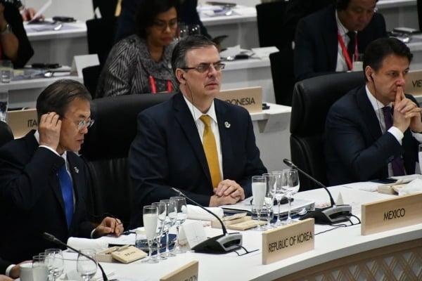 México participó junto con Japón en un evento adicional que convocó sobre sobre economía digital y comercio electrónico. Foto: Especial.