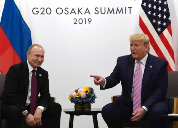 MOFA. Trump le pidió a Putin que