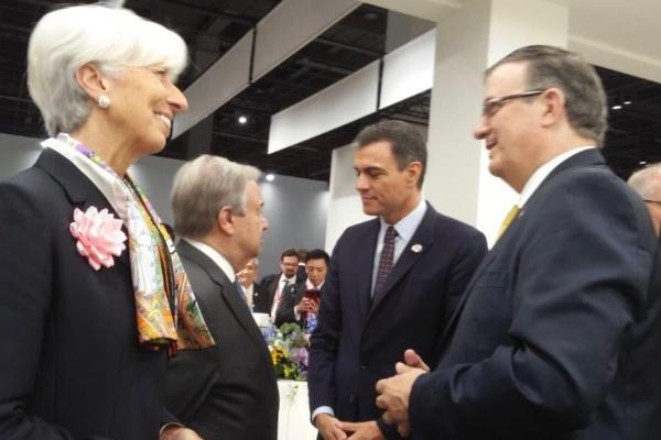 Este viernes, Marcelo Ebrard tuvo un cálido encuentro con el presidente Donald Trump. Foto @m_ebrard