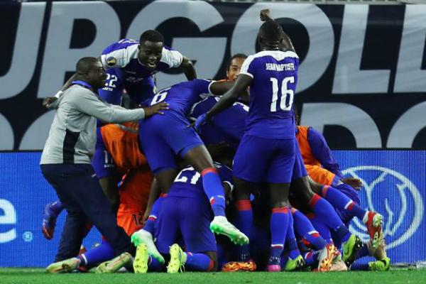 La Selección de Haití enfrentará al ganador del partido México contra Costa Rica. Foto: Especial.