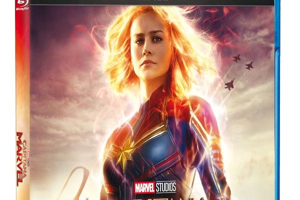 Capitana Marvel, para ver en casa. Foto: Especial