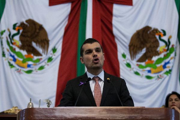 Jorge Triana en la Cámara de Diputados