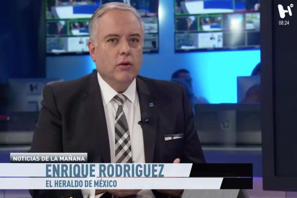 Enrique Rodríguez en el foro de noticias de la mañana
