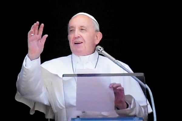 PAPA. Ha sido muy criticado por sus opositores en la Iglesia. Foto: AP